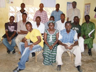 The teaching staff of the primary and secundary school