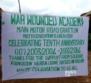 10th Aniversary War Wounded Academy 01